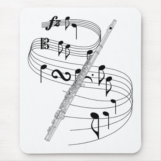 Flute Mouse Pad