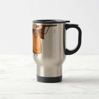 Flute 15 Oz Stainless Steel Travel Mug