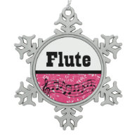 Flute Music Band Gift Ornaments