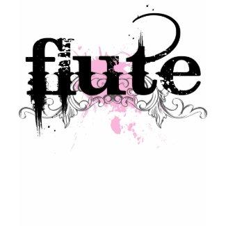 Flute Music Grunge T-shirt shirt