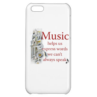 Flute Music Helps Us Express Words Smart Phone iPhone 5C Cases