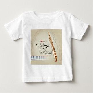 Flute Music Room Baby T-Shirt