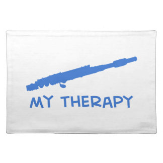 Flute my therapy designs placemat