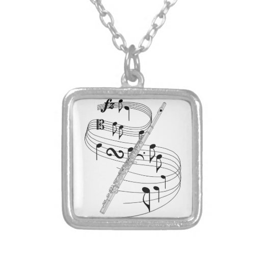 Flute Custom Necklace