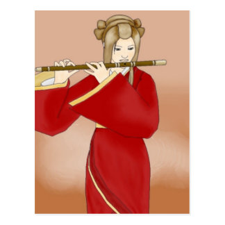 Flute of Autumn Postcard