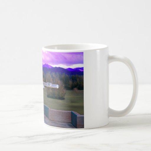 Flute on Marble Vase 2c Classic White Coffee Mug