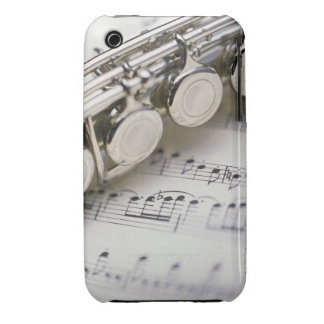 Flute on Sheet Music iPhone 3 Case-Mate Case