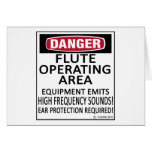 Flute Operating Area Cards