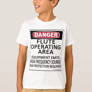 Flute Operating Area T-Shirt