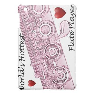 Flute or Flutist Musician  iPad Mini Covers