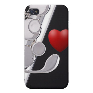 Flute or Flutist Musician Iphone Case iPhone 4 Case