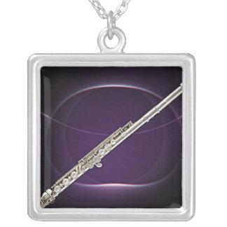 Flute or Flutist Musician Necklace