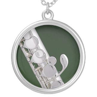 Flute or Flutist Necklace