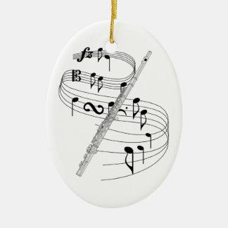 Flute Ornament