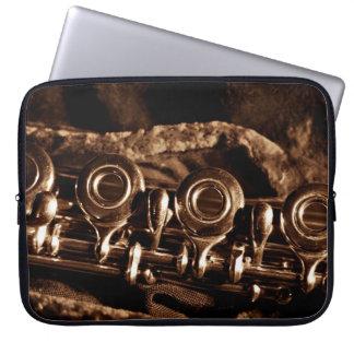 Flute Photo Laptop Sleeve