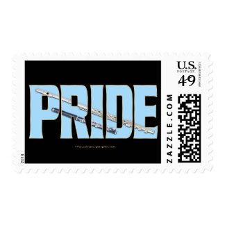 Flute - Piccolo Pride Postage Stamps
