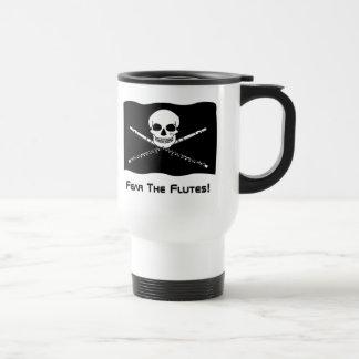 Flute Pirate Travel Mug