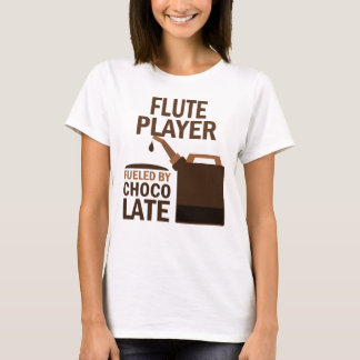 Flute Player (Funny) Chocolate T-Shirt