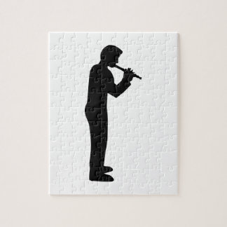 Flute player jigsaw puzzle