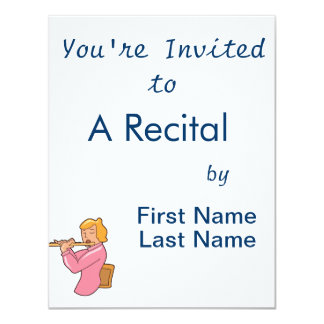 flute player lady pink shirt abstract.png card