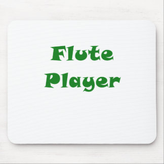 Flute Player Mouse Pad
