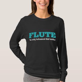 Flute Player Music T-shirt