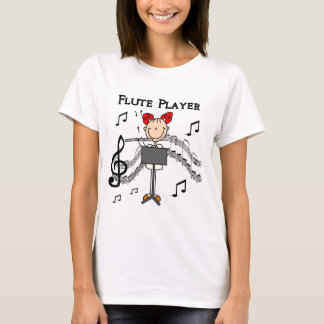 Flute Player T-shirts and Gifts