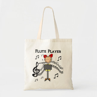 Flute Player T-shirts and Gifts Tote Bag