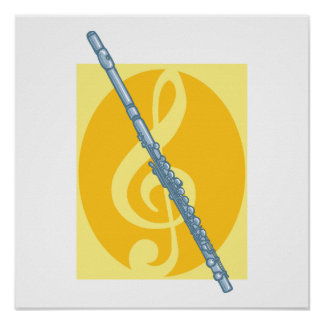 Flute Posters