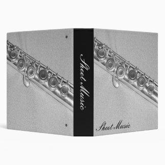 Flute Sheet Music Binder