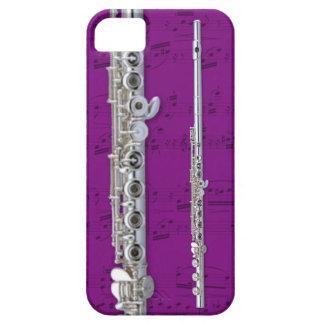 Flute & sheet music phone case. Pick color iPhone SE/5/5s Case