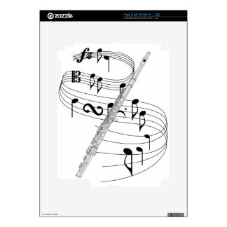 Flute Skins For iPad 2