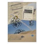 Flute Steampunk Fantasy Greeting Card