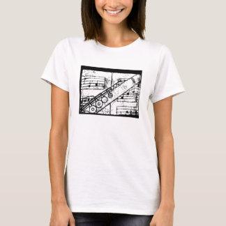 Flute T-shirt, plain T-Shirt