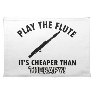 flute  therapy design placemats