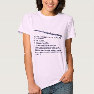 Flute Top 10 Tee Shirt