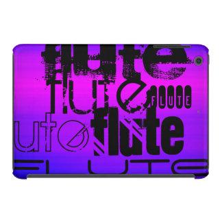 Flute; Vibrant Violet Blue and Magenta iPad Mini Cases