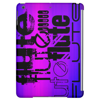 Flute; Vibrant Violet Blue and Magenta iPad Air Case