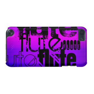Flute; Vibrant Violet Blue and Magenta iPod Touch 5G Case
