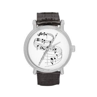 Flute Wrist Watch