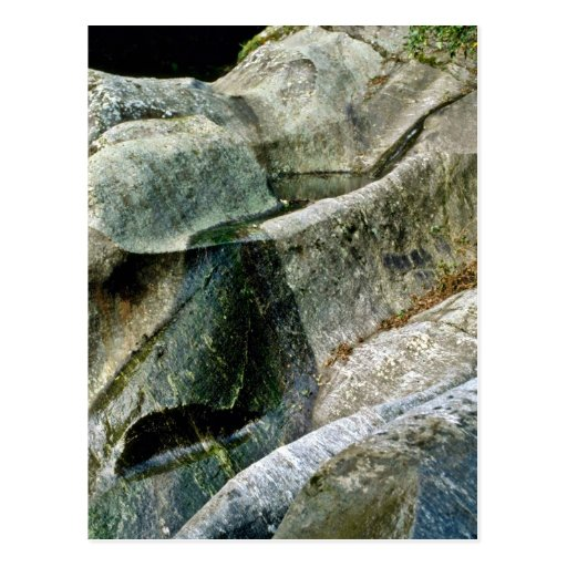 Fluted Falls, Fox Glacier Postcard