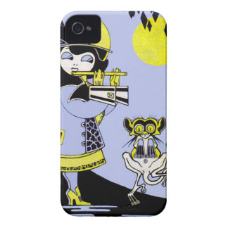 Flutist and the Monkey Blackberry Bold Case