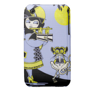Flutist and the Monkey Case-Mate iPhone 3 Case