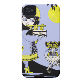 Flutist and the Monkey Case-Mate iPhone 4 Cases