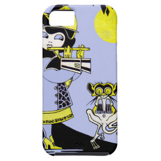 Flutist and the Monkey iPhone SE/5/5s Case