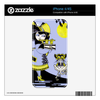 Flutist and the Monkey Skins For iPhone 4