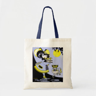 Flutist and the Monkey Tote Bag