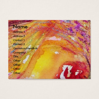 FLUTIST PORTRAIT / Venetian Masquerade Business Card
