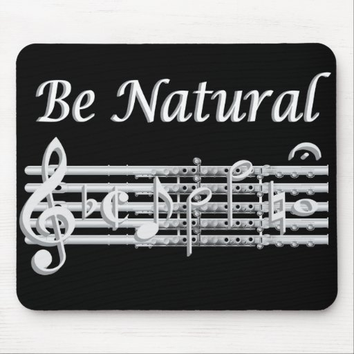 Flutists Know How to Be Natural Mouse Pad