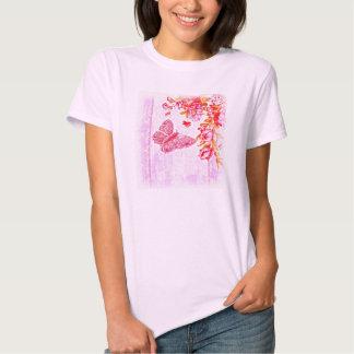 Flutter Bug Pink Shirt